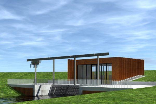 Gemaal de Broekhuizen - Sjouke Westhoff Architect